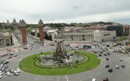 Барселона - Вид на Площадь