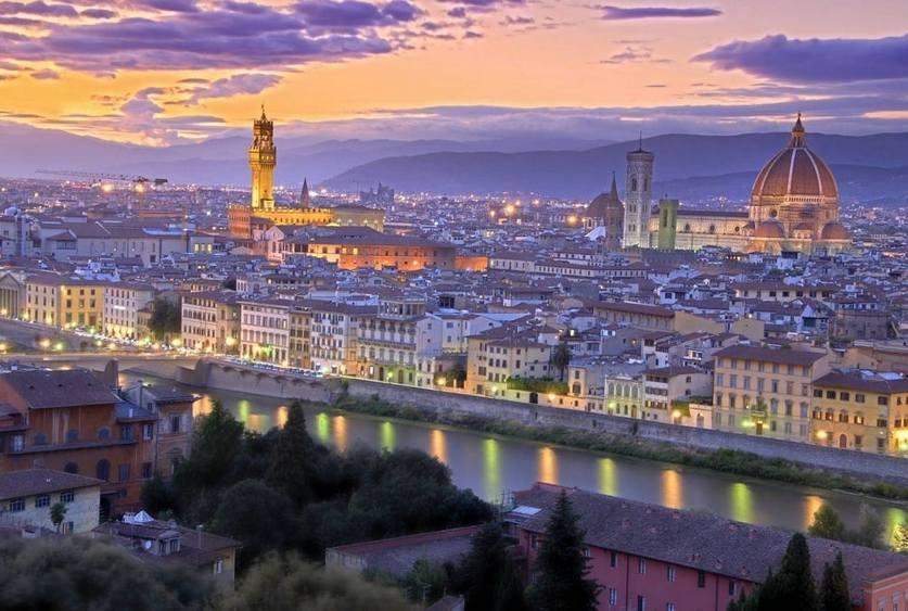 Экскурсии по Флоренции - вечерняя Флоренция