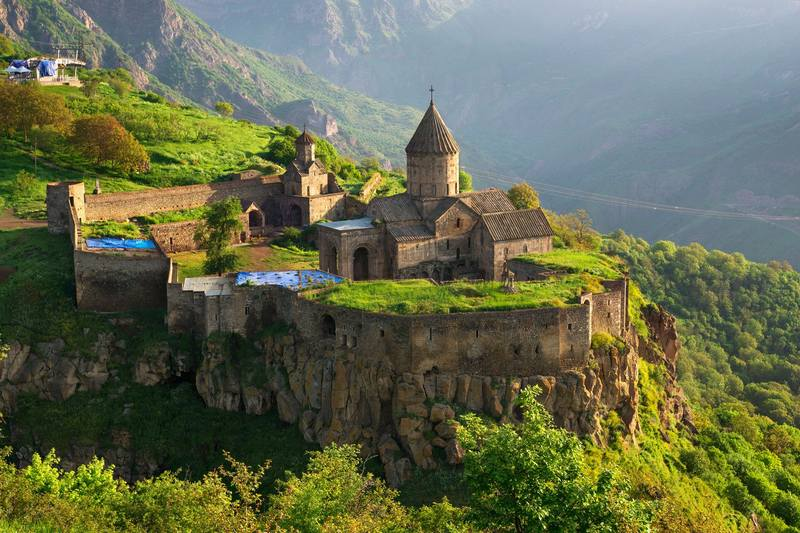 Отдых в Армении - монастырь Татевский